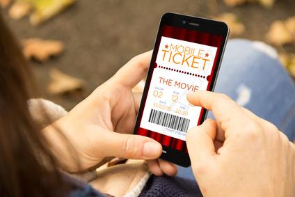 Kinotickets online per App am Handy buchen